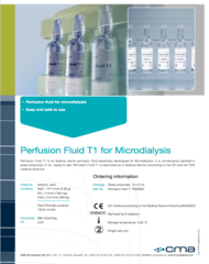 T1 Perfusion Fluid T1 Data Sheet