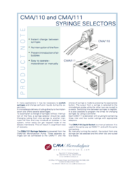 CMA 110 Liquid Switch Product Note